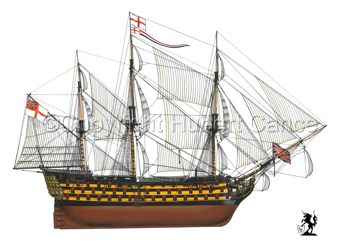 """HMS Victory"" (large view)"