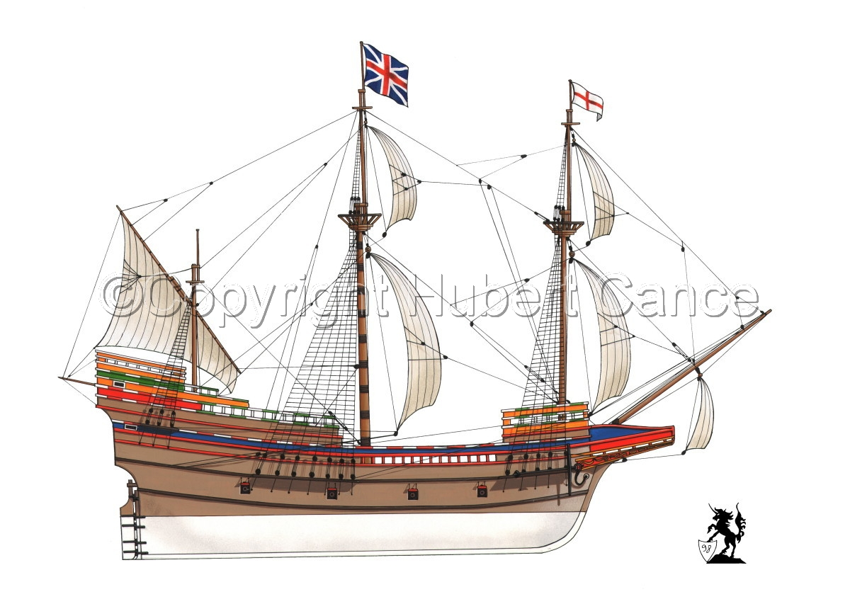 """Mayflower"" (large view)"