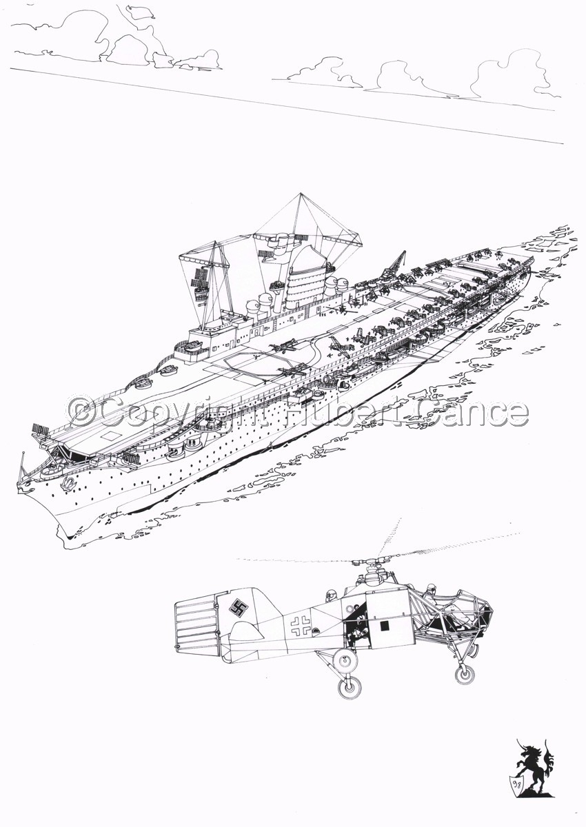"""""""Graf Zeppelin"""" (large view)"""