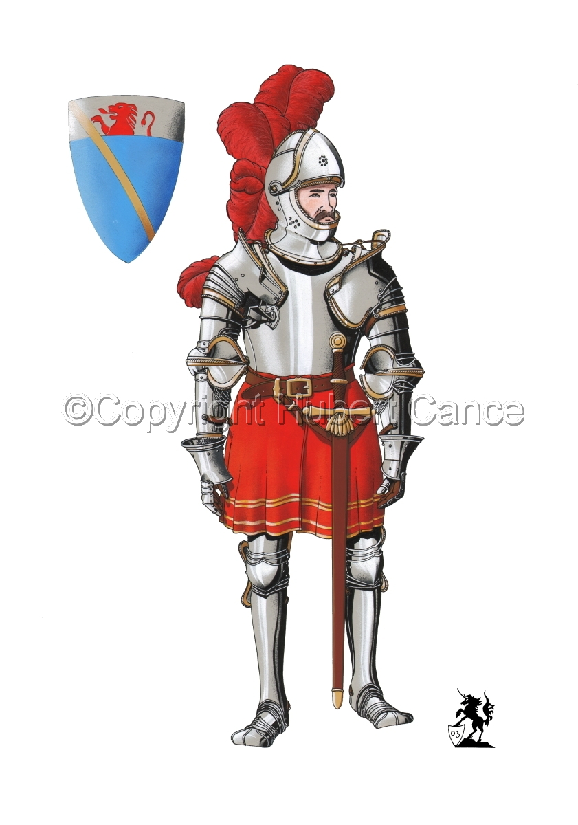 Pierre III Terrail, Knight of Bayard (1524) (large view)