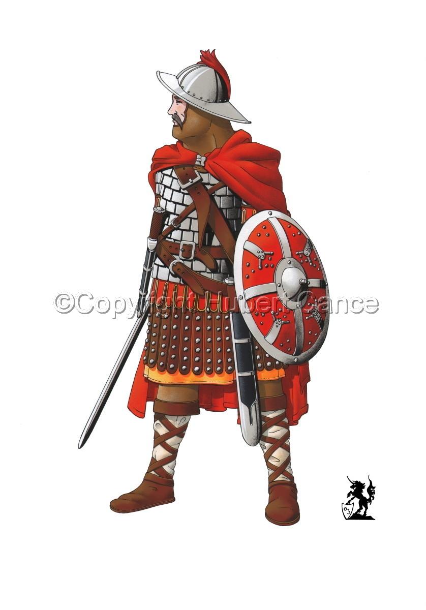 Guard of Emperor Carolus Magnus (800) (large view)