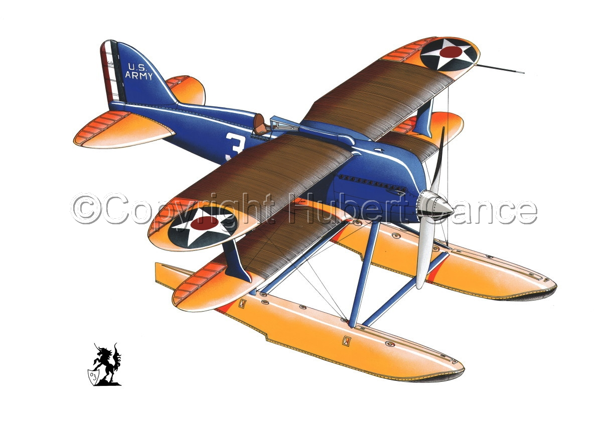 Curtiss R3C2 Army Racer #2 (large view)