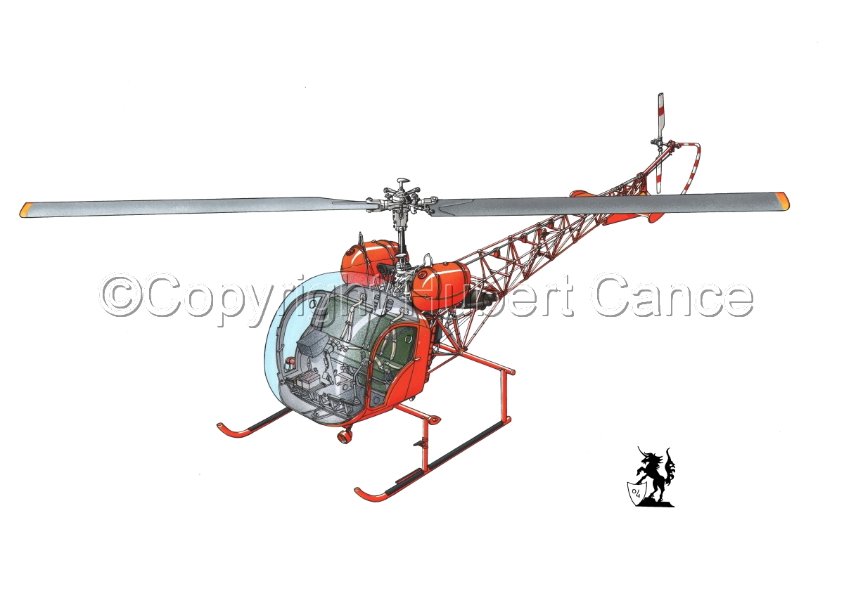 Bell 47 G-4 (large view)