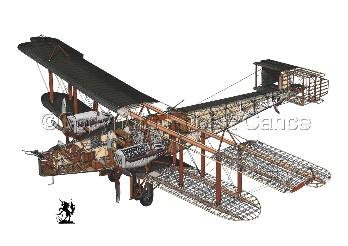 Handley Page O/400 #1.1 (large view)