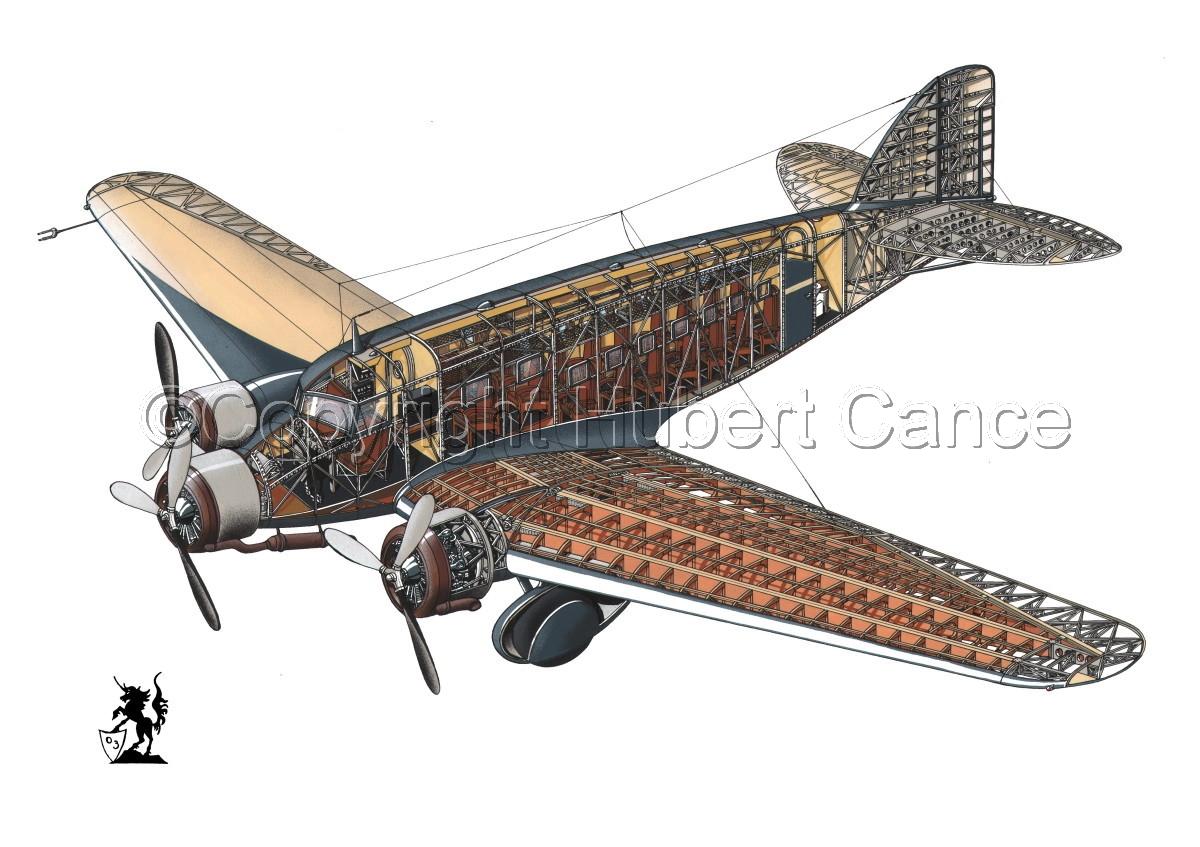 Savoia Marchetti SM-73 #1.1 (large view)