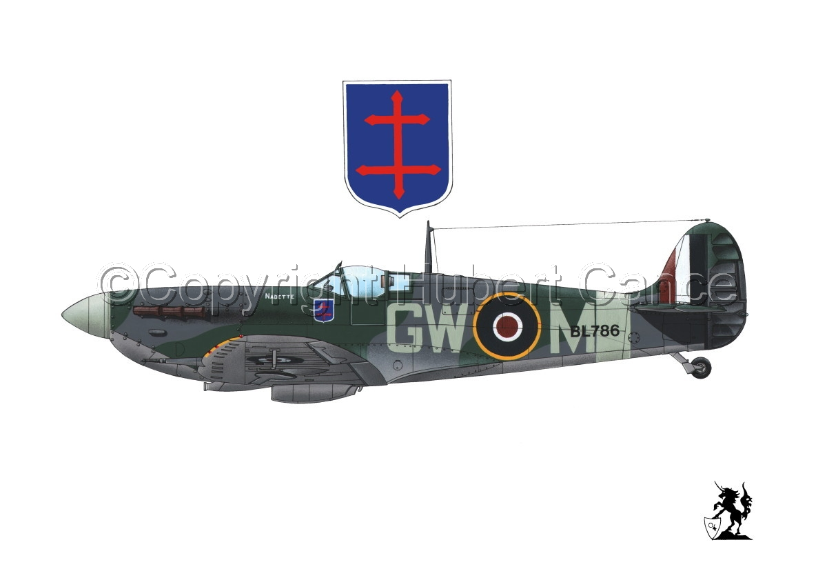 "Supermarine ""Spitfire"" Mk.Vb #1.1 (large view)"