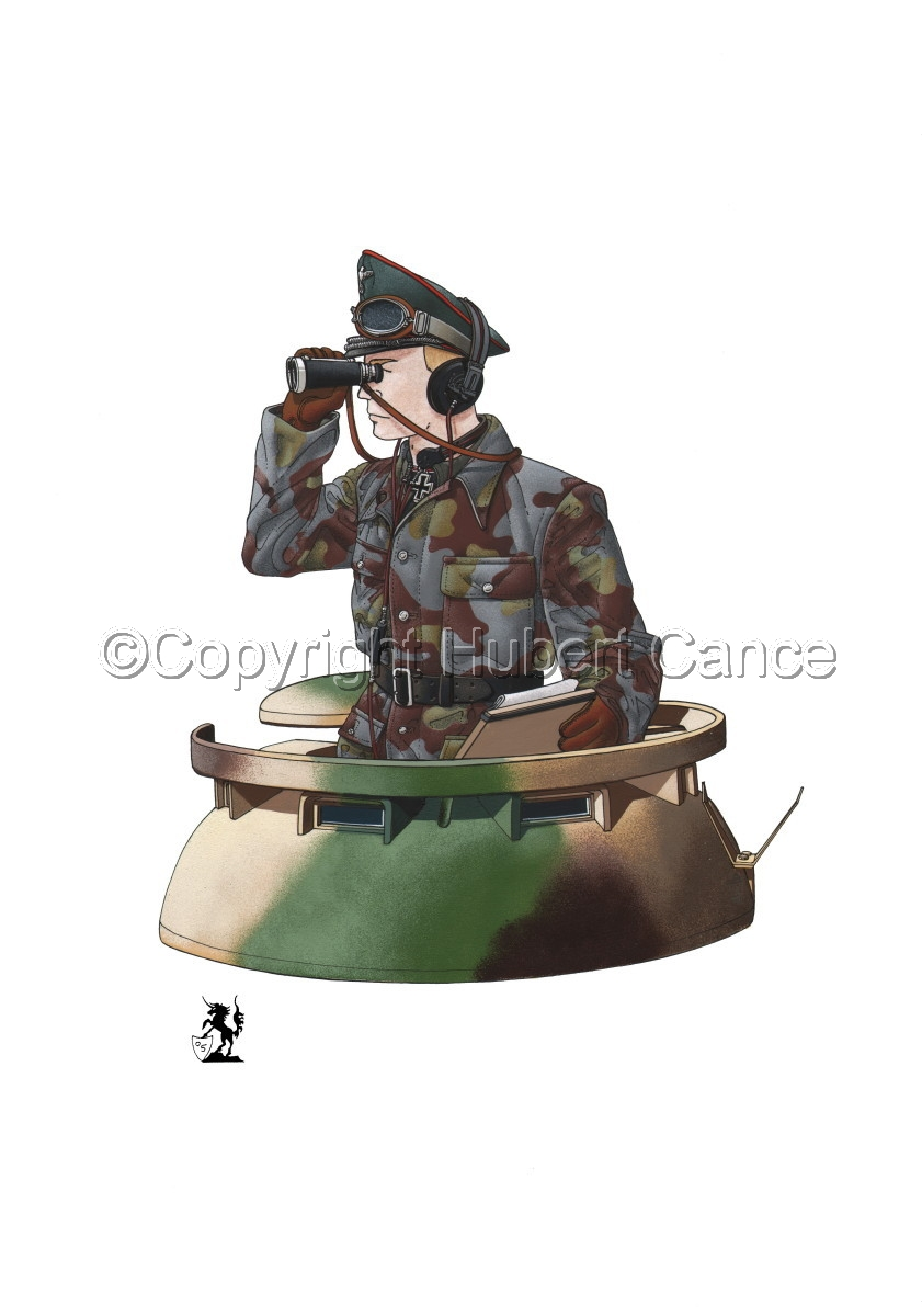 German Panther Tank Commander (1944) (large view)