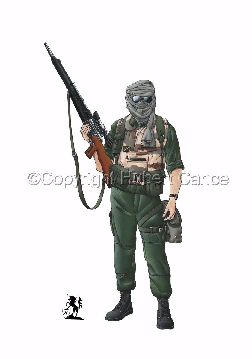 Foreign Legion Sniper (Gulf War 1) (large view)