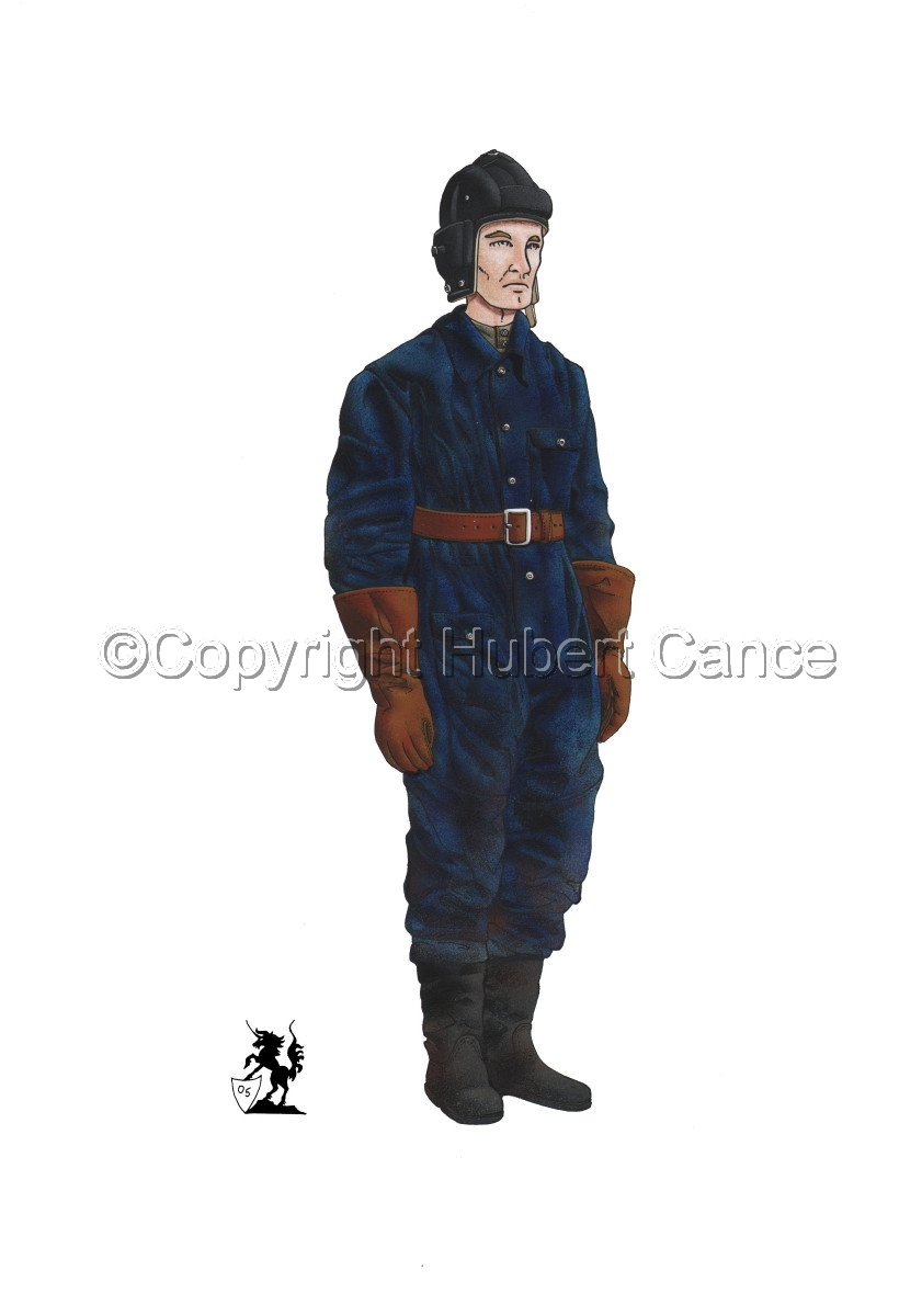 Soviet Tank Crewman (WW2) (large view)