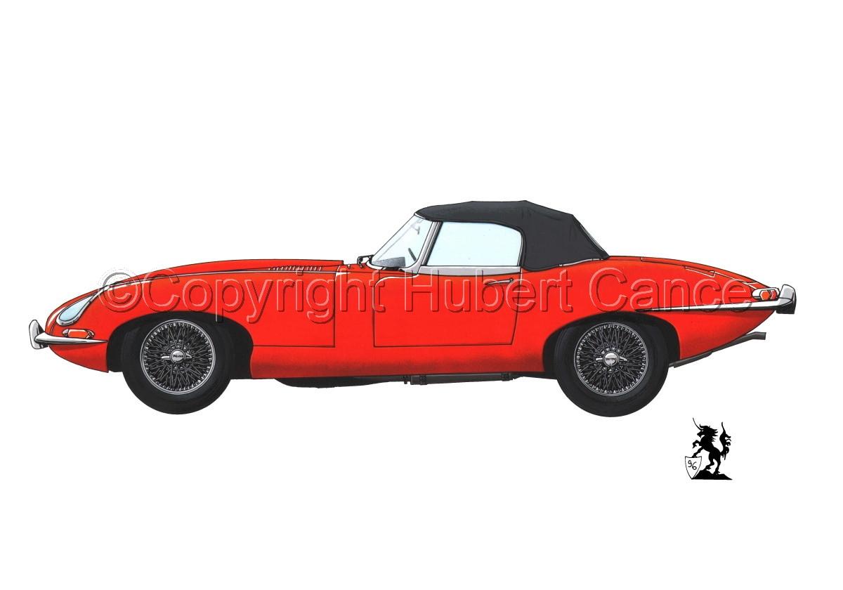 Jaguar Type E #1.1 (large view)