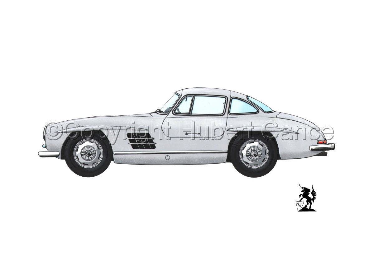 Mercedes 300SL #2 (large view)