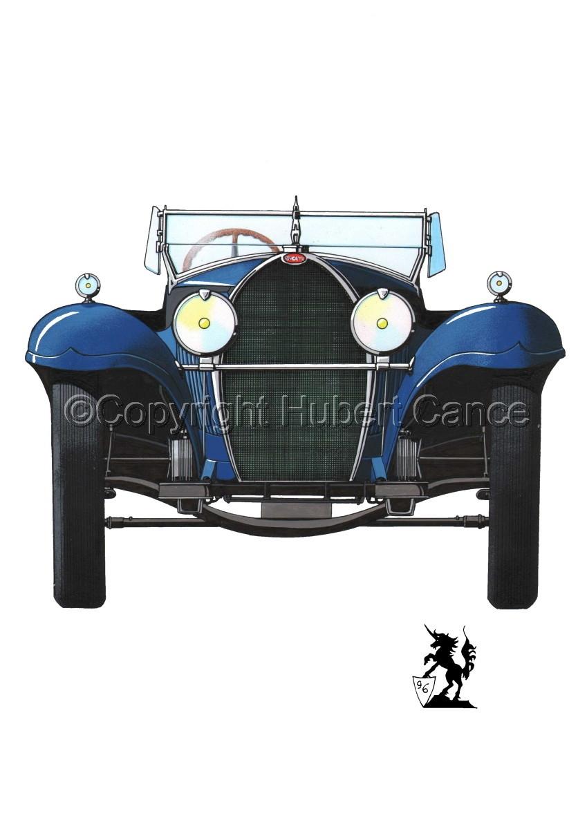 Bugatti Type 50 #1.1 (large view)
