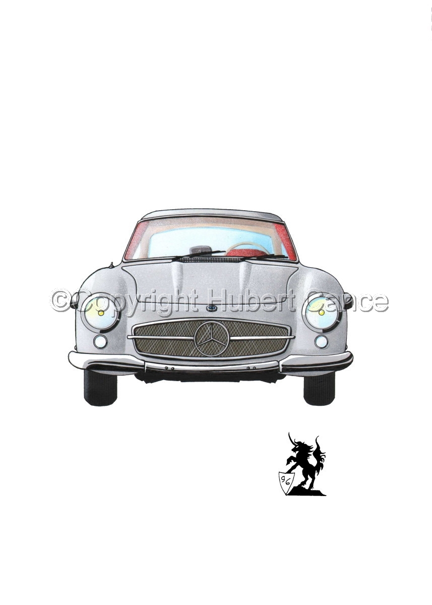 Mercedes 300SL #1 (large view)