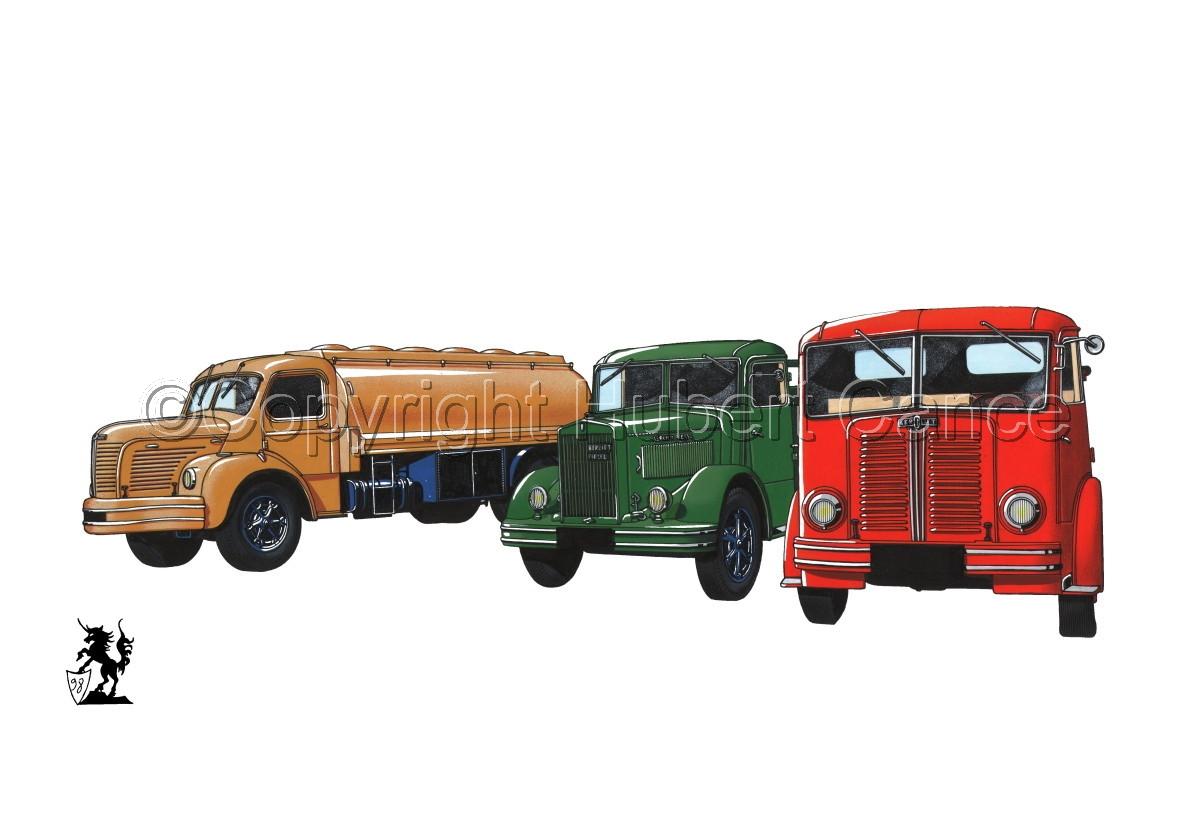 Berliet GLR8, GLB5 & GDC6W #1 (large view)