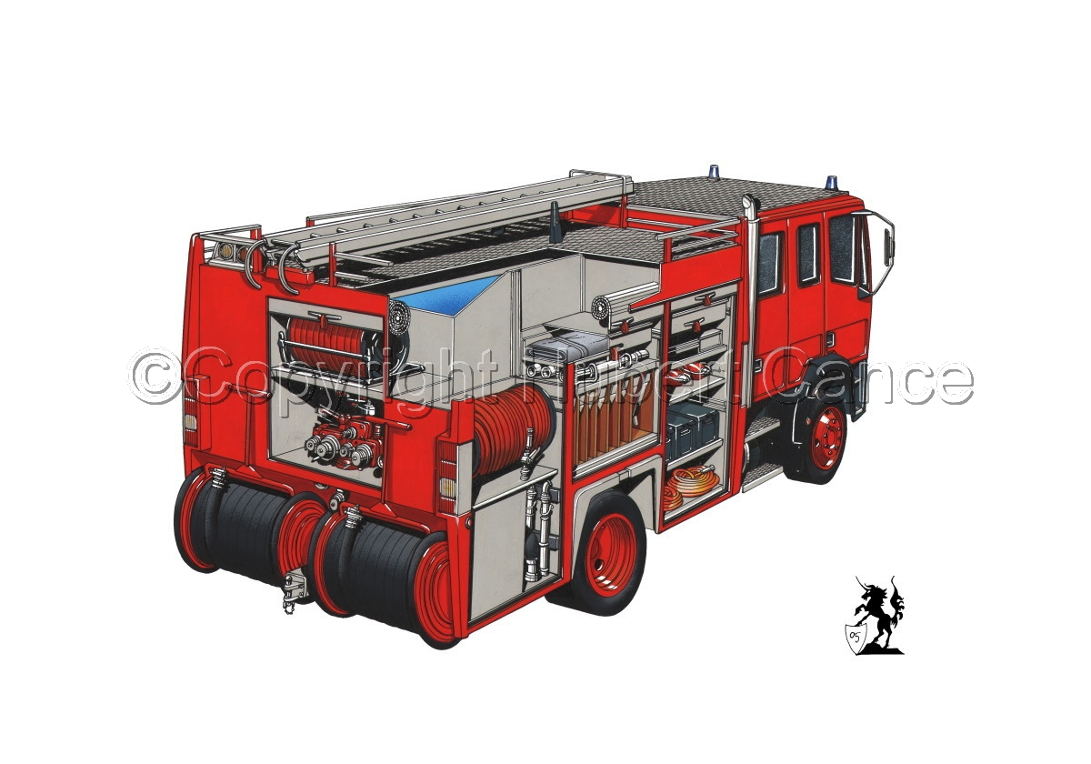 Fire Truck Cutaway #1 (large view)