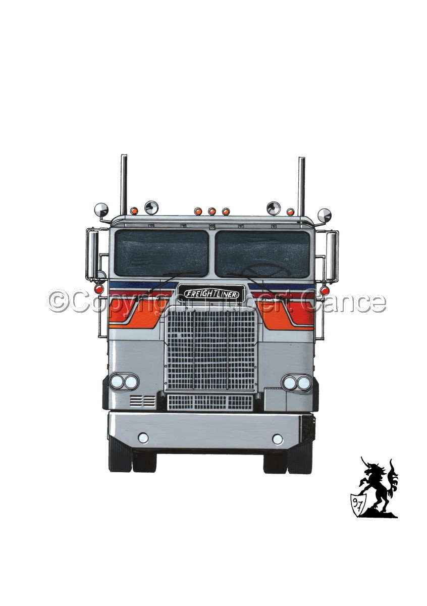 Freightliner COE Tractor #1 (large view)