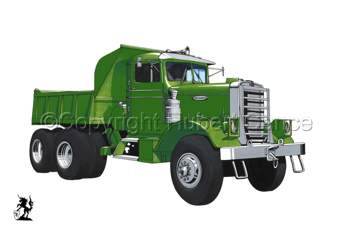 Kenworth Dump Truck #1 (large view)