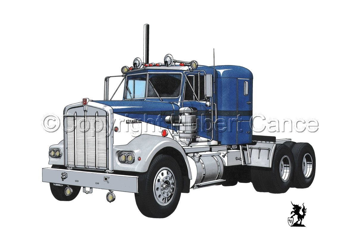 Kenworth W900 Tractor #1 (large view)