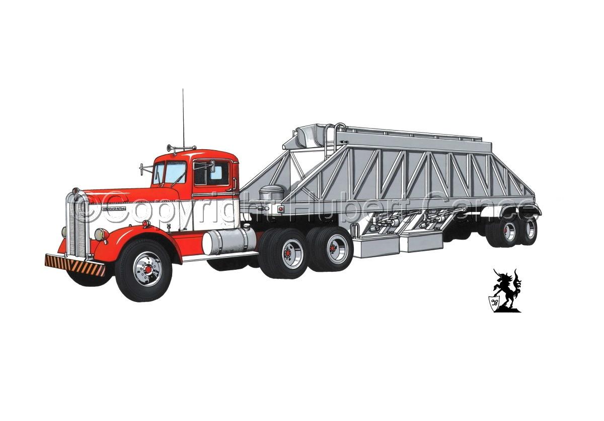 Kenworth Tractor & Dump Trailer #3.1 (large view)