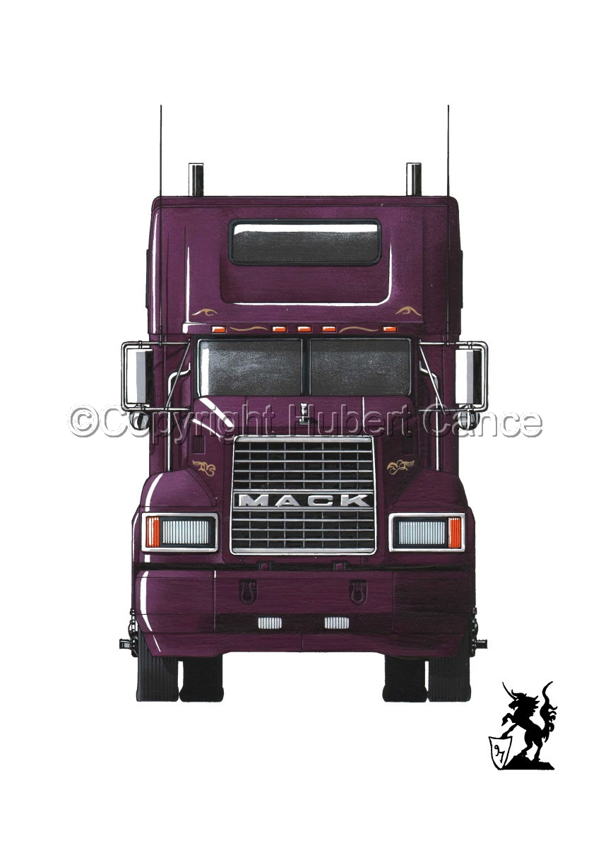 Mack CL600 #1 (large view)