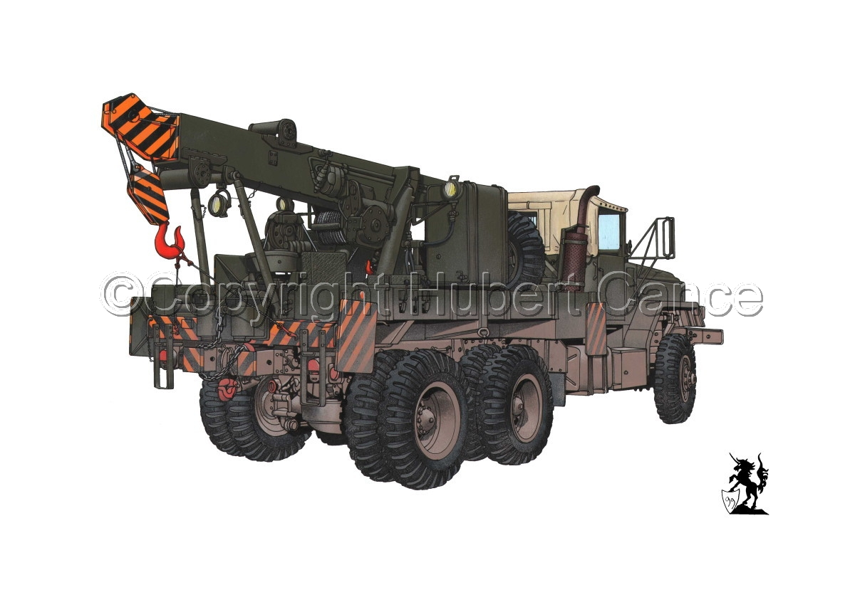 AM M936 Recovery Truck #1.1 (large view)