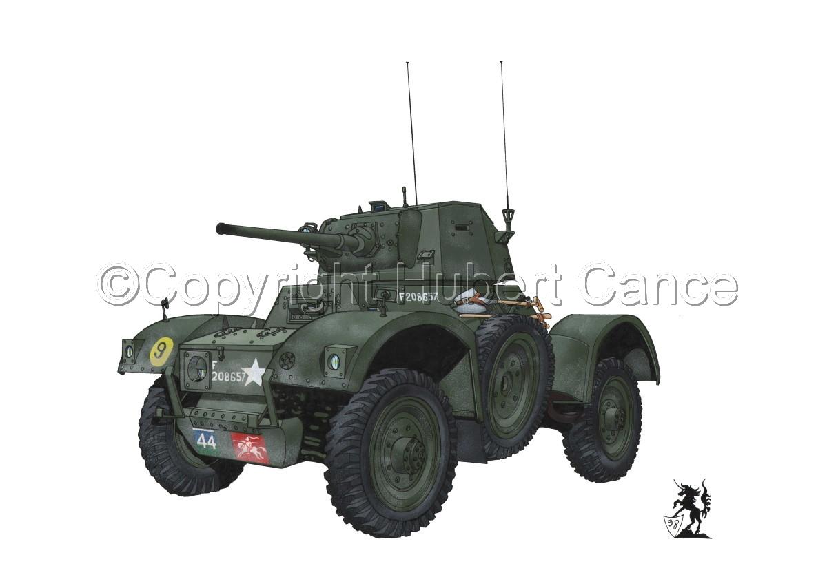 Daimler Mk.I Armoured Car (large view)