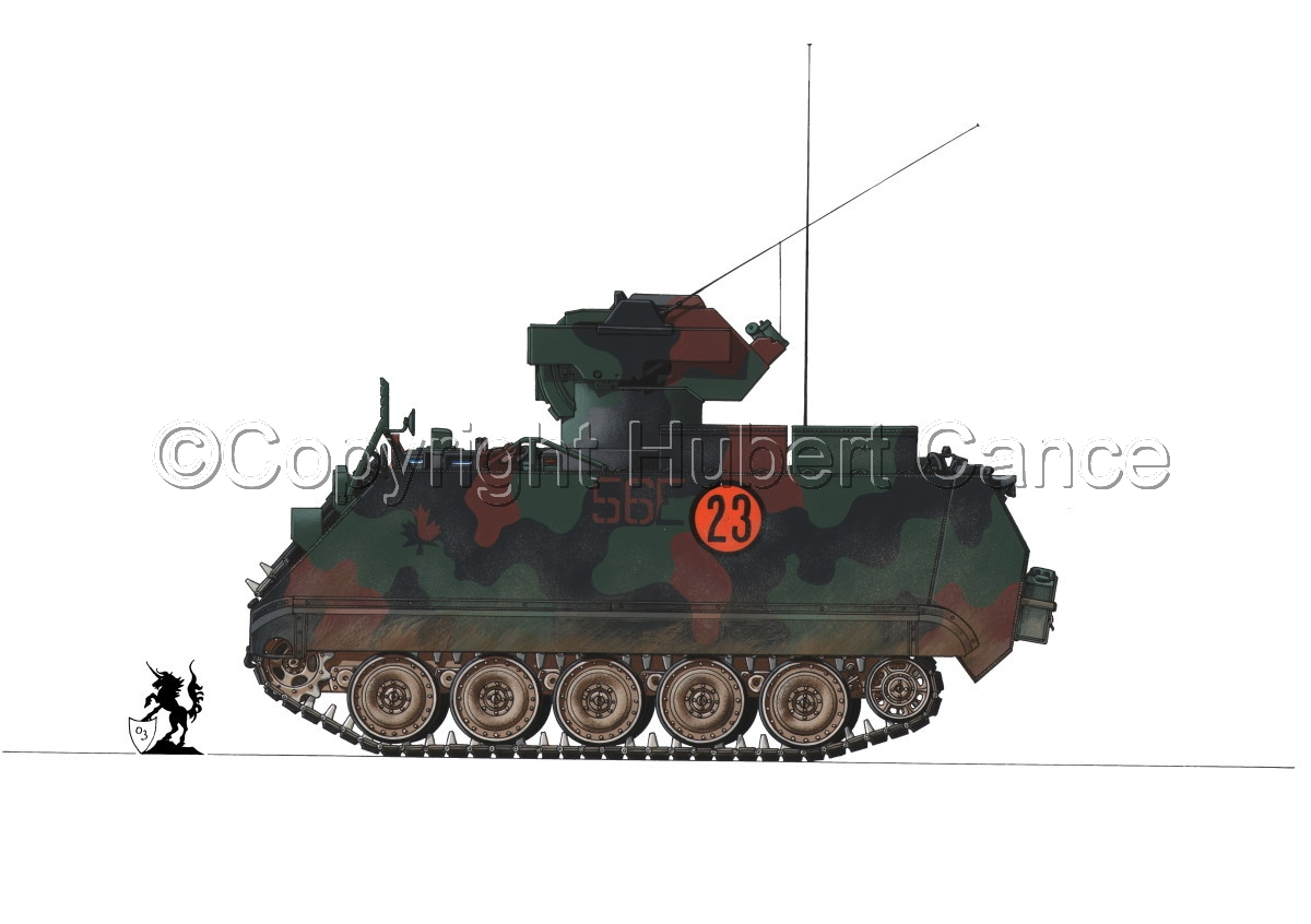 M113A2 TUA (Tow Under Armor) #1.1 (large view)