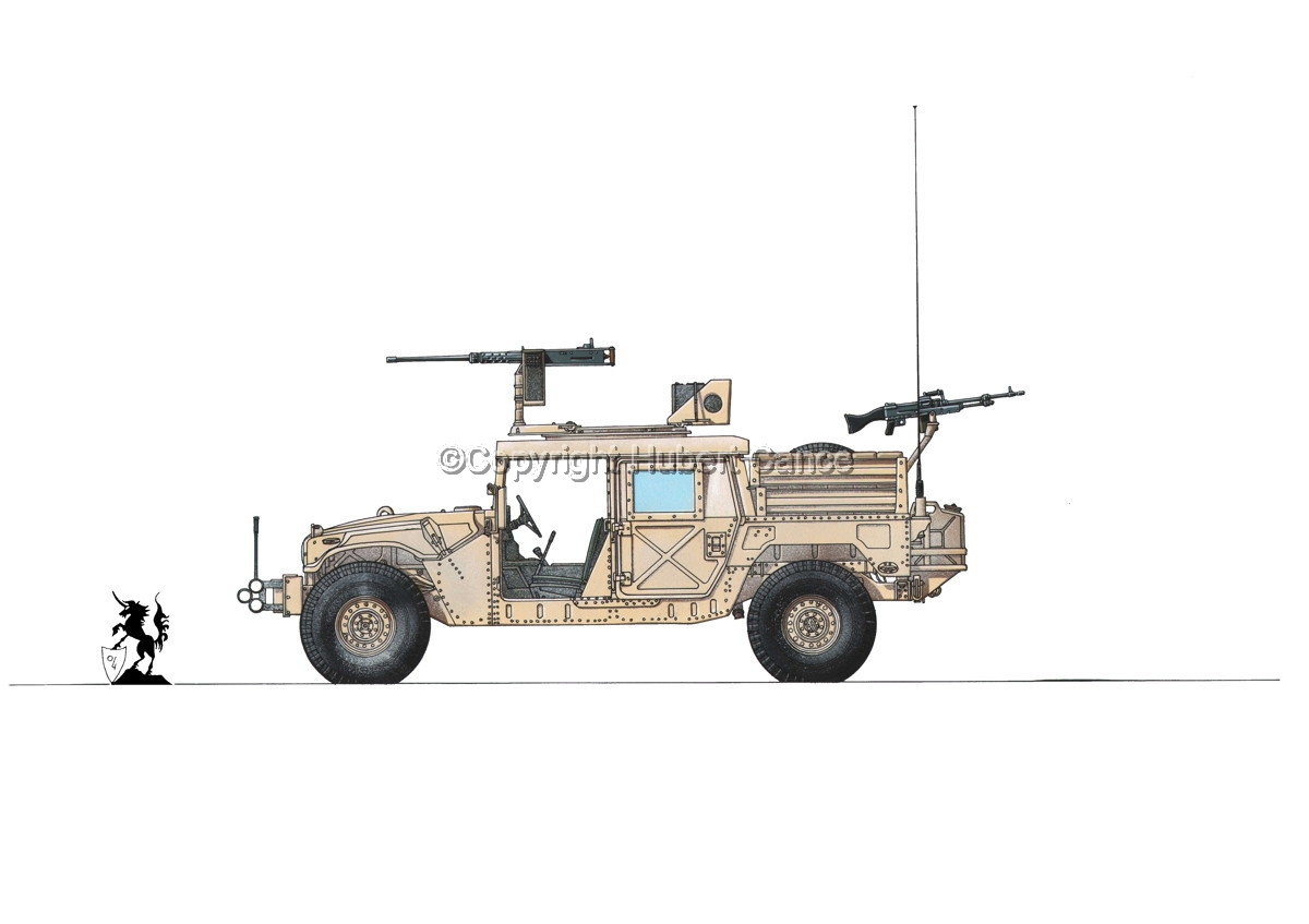 AMC M1025A2 HMMWV GMV-S #1.1 (large view)
