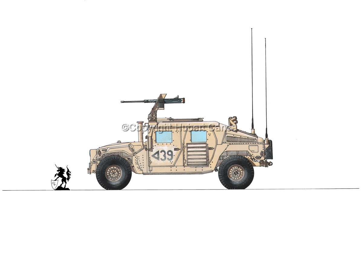 AMC M1114 Up-Armored HMMWV #2.1 (large view)