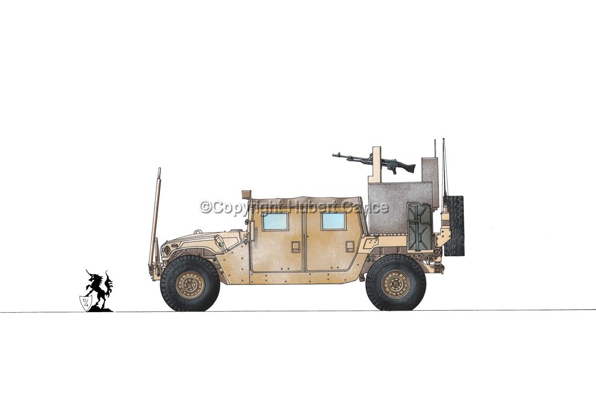 AMC M1038 HMMWV Gun-Truck #1.1 (large view)