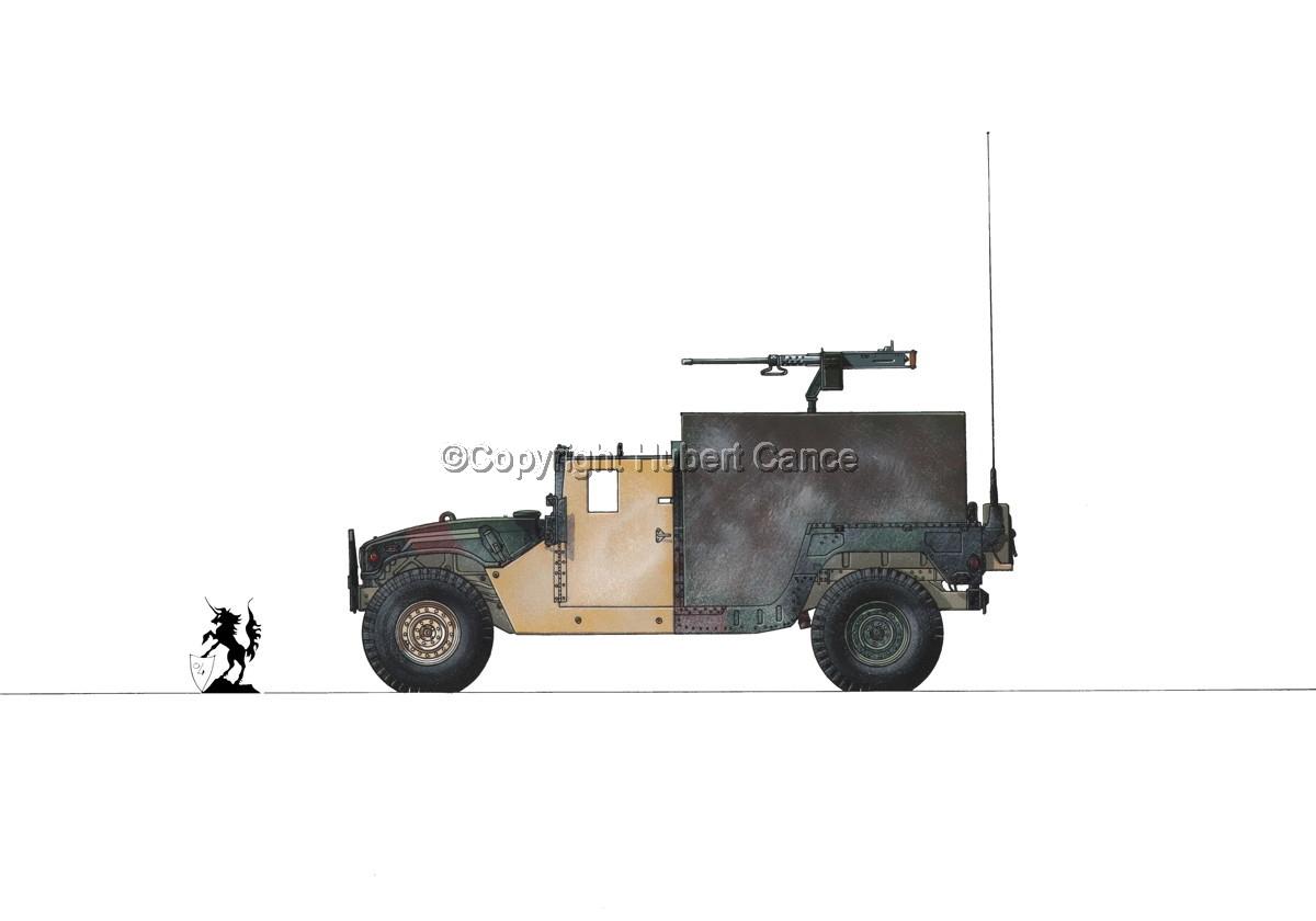 AMC M998 HMMWV Gun-Truck #1.1 (large view)