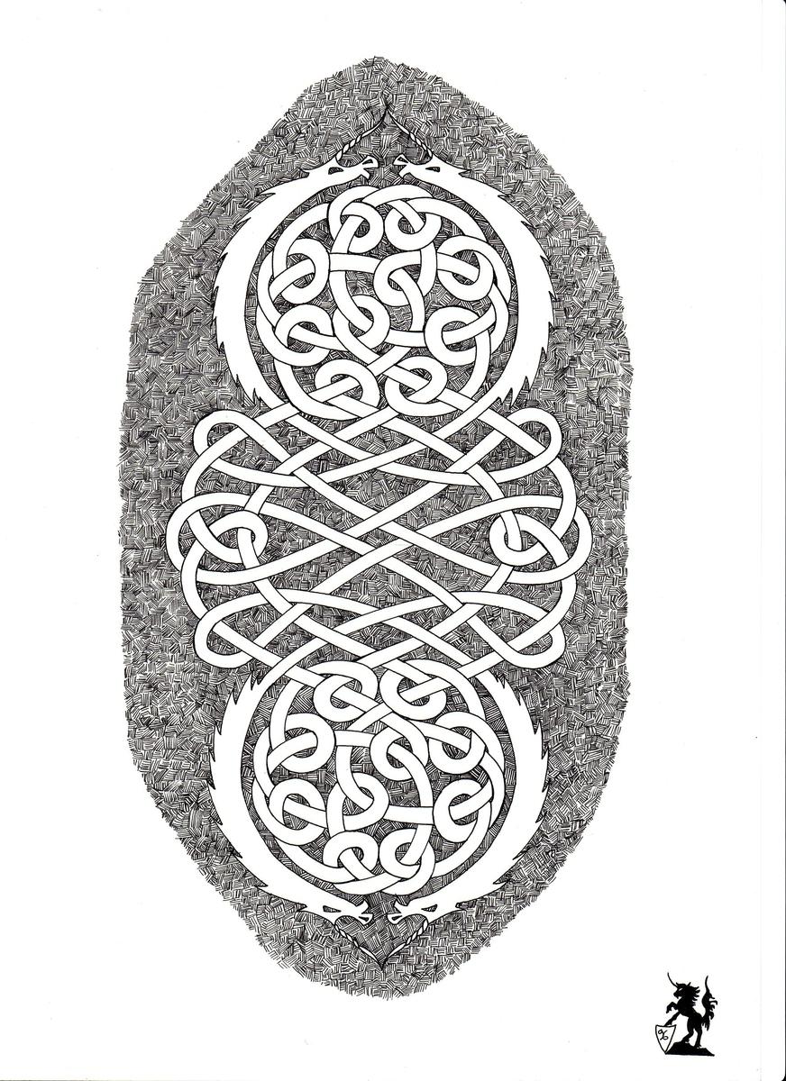 """""""Unicorn knot"""" (large view)"""