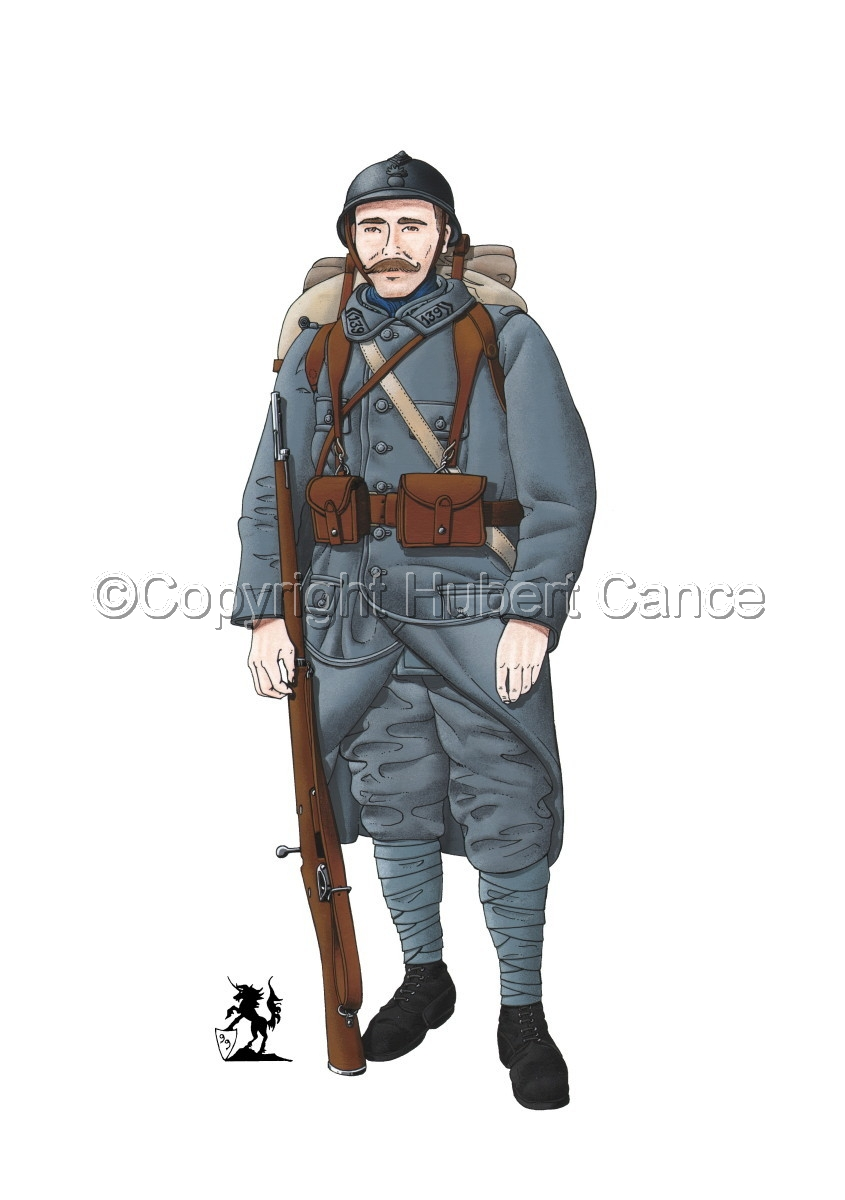 French 139eme Regiment d'Infanterie (1915) (large view)