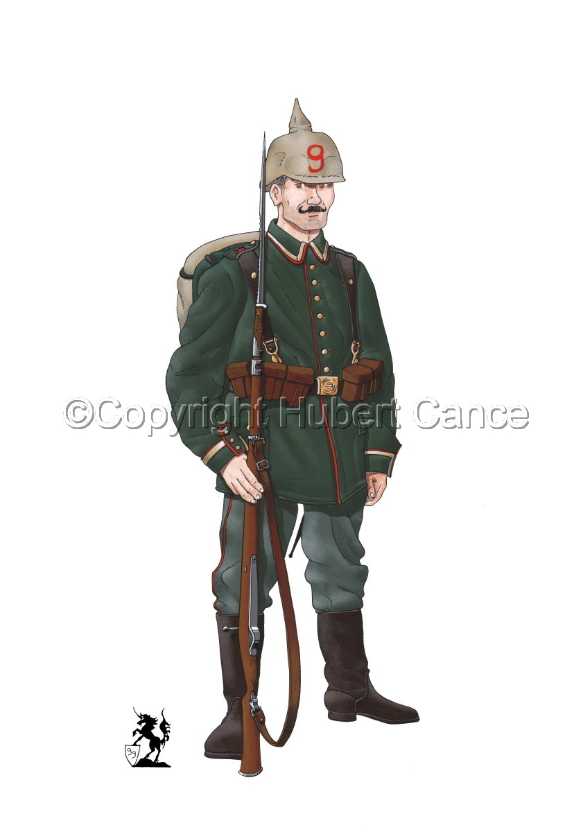 9th. Prussian Grenadier Regiment (1914) (large view)