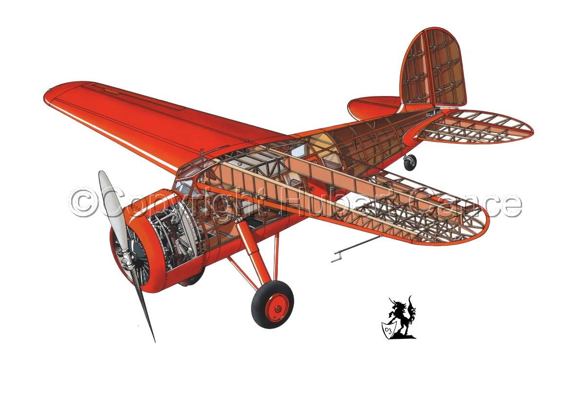 """Lockheed """"Vega"""" #1.1 (large view)"""