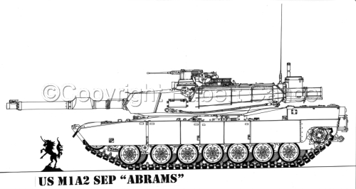 "US M1A2 SEP ""Abrams"" (large view)"