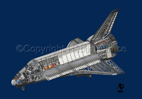 Rockwell Space Shuttle #2.1 (large view)