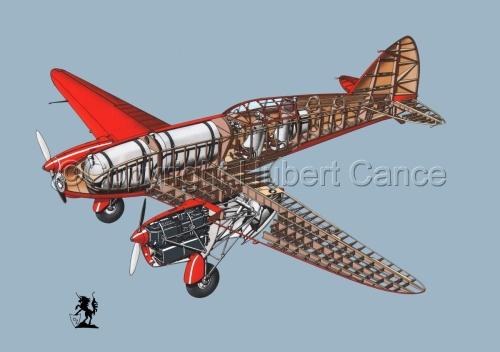 """De Havilland DH.88 """"Comet"""" Racer #1.2 (large view)"""