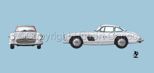 Mercedes 300SL 2-Views #2 (large view)