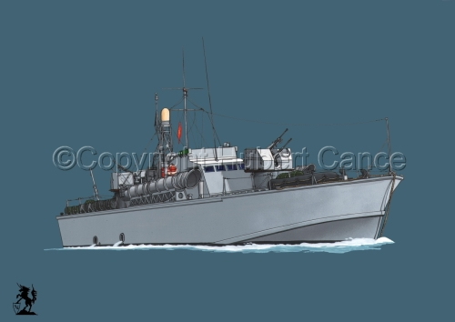North Vietnamese P6 Torpedo Boat #2 (large view)