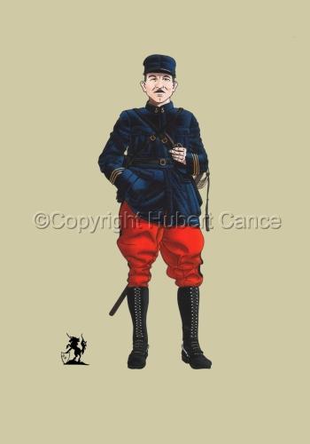 French, Capitaine, 5eme Regiment d'Infanterie (1914) #1 (large view)
