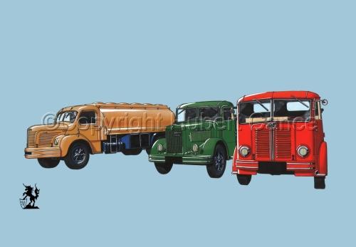 Berliet GLR8, GLB5 & GDC6W #2 (large view)