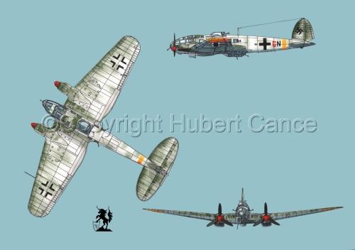 Heinkel He 111H-16 #2 (large view)