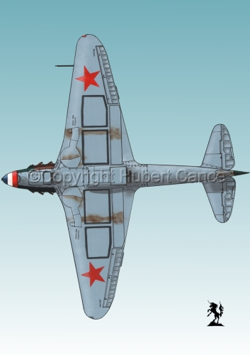 Yakovlev Yak-9D #4bis.3 (large view)