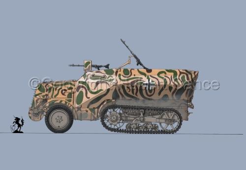 Leichter Schützenpanzerwagen (2.Ausf.) auf Unic P-107 U.304(f) #2 (large view)