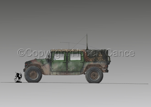 AMC M998 HMMWV Cargo #1.3 (large view)