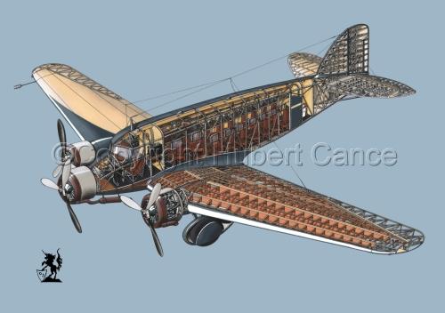 Savoia Marchetti SM-73 #1.2 (large view)