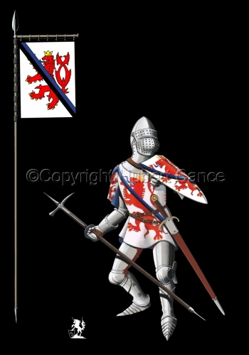 Jean of Luxembourg (1466) (Banner #2) (large view)