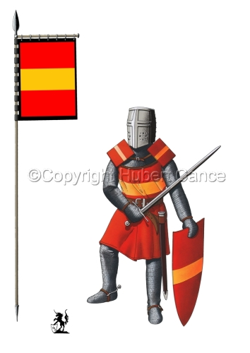 French Knight (XIIIth. Century) (Banner #1) (large view)