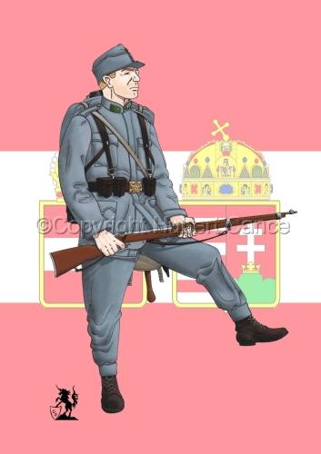 2nd. Imperial Austrian Landwehr Regiment (Flag #2) (large view)